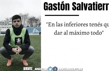 Gastón Salvatierra: ''En lo individual estoy muy bien, hace poco tuve una lesión y trate de llegar lo mejor posible''