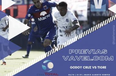 Godoy Cruz vs Tigre: Todo sigue en juego