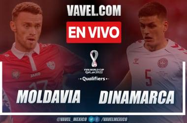 Resumen y goles: Moldavia (0-4) Dinamarca por las eliminatorias europeas a Catar 2022
