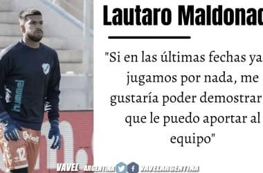 """Lautaro Maldonado: """"Para muchos es el puesto más complicado"""""""