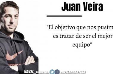 Juan Veira: ''Jugar con público es maravilloso''