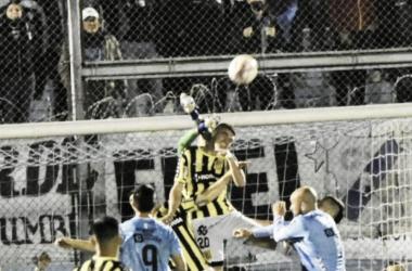 El encuentro tuvo lugar en el Estadio Alfredo Beranger.<div>Ph: @clubalmirantebrown</div>