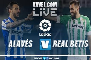 Resumen del Alavés vs Betis en LaLiga 2021 (0-1)