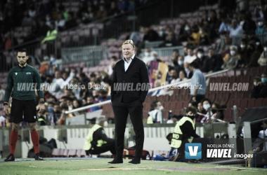 Ronald Koeman ante el Dinamo de KIev. Foto: Noelia Déniz, VAVEL