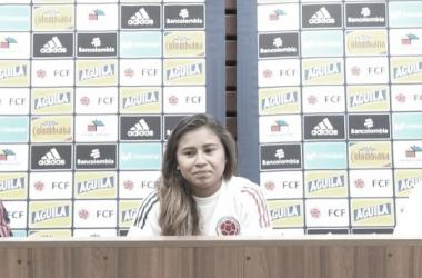 Rueda de prensa Selección Colombia Femenina.