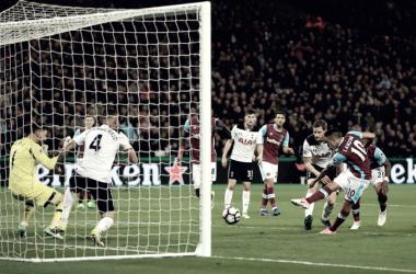 Premier League - Il Tottenham cade all'Olympic Stadium e saluta il titolo: 1-0 per il West Ham
