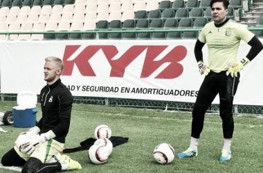 Yarbrough y Felipe Rodríguez tienen una competencia sana. (Foto: Club León)