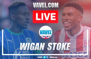 As it happened Wigan Athletic 3-0 Stoke City: Naismith double edges Latics closer to survival