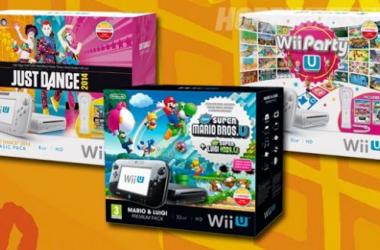 Se lanzarán a la venta tres packs navideños del Wii U