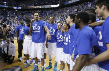 Kentucky Wildcats Spell Perfection, Finishing Regular Season 31-0