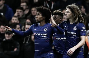 Brasileiro foi o destaque do jogo (Reprodução / Chelsea)
