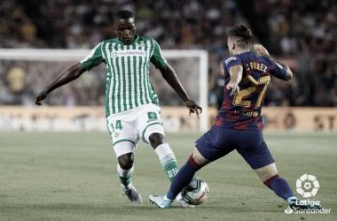 William Carvalho disputando un balón / Foto: La Liga