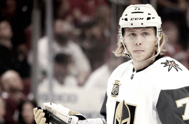 NHL Most Improved Player Award 2018 William Karlsson Vegas Golden Knights (Photo Courtesy of thescore.com)