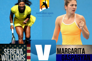 Score Serena Williams - Margarita Gasparyan Of The 2016 Australian Open Fourth Round (2-0)