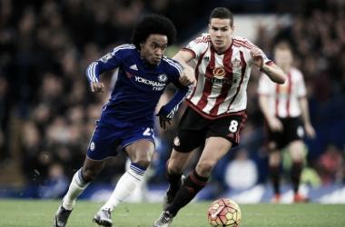 Chelsea 3-1 Sunderland: Hiddink in attendance as Blues beat Black Cats