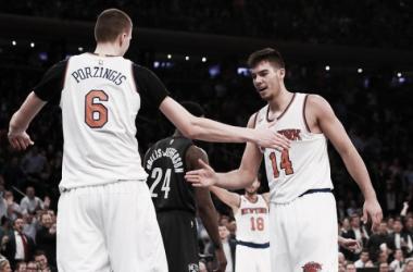 Porzingis y Willy deciden el 'derbi' de Nueva York