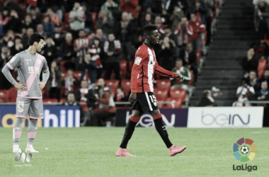 Iñaki Williams no estará ante el Sevilla