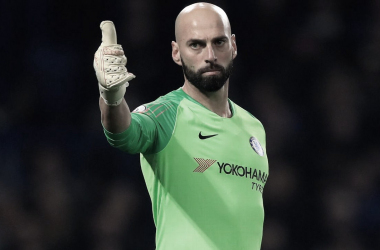 Willy Caballero. / Foto: Chelsea FC.