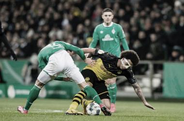 Batacazo copero del Borussia Dortmund en Bremen