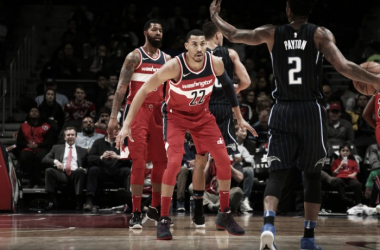 Los Wizards vencieron con un gran último cuarto a los Magic. Foto: NBA