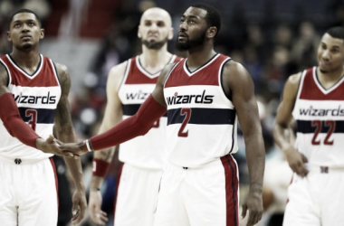 The Wizards' young core can take them to great heights but it's just a matter of excuting correctly. Photo: Alex Brandon/AP Photo