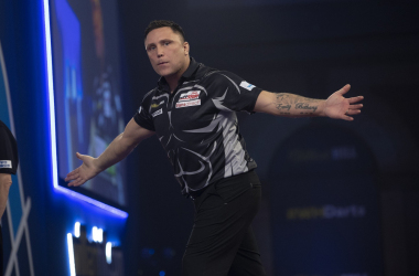 Darts: Gerwyn Price victorious on second day of PDC Super Series 2