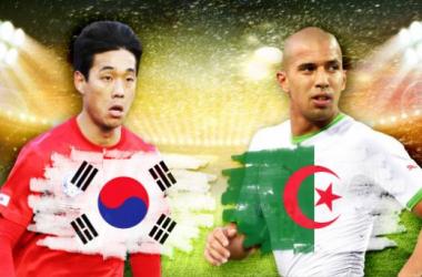 Corea del Sur - Argelia: revelarse en el Grupo H