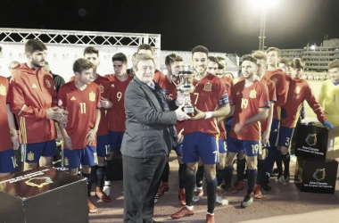 La Selección Española, habitual campeona de la Copa del Atlántico. Foto: FIFLP