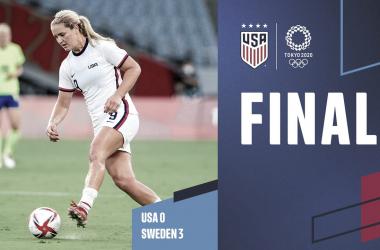 Estados Unidos inicia con una durísima derrota en el Torneo Olímpico de Fútbol Femenino | Fotografía: U.S.Soccer