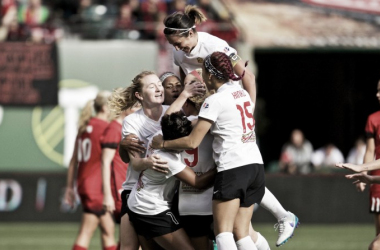 The Flash come away with the upset against the Thorns (NWSLsoccer.com)