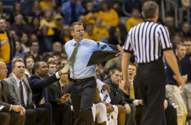 Marquette coach Steve Wojciechowski's motivational tactics were on full display tonight in Marquette's victory. Photo credit: Jeff Hanisch?USA TODAY Sports