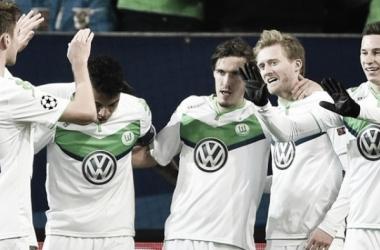 Kruse, Schürrle y Draxler fueron las figuras del Wolfsburgo en esta serie. // (Foto de es.uefa.com)