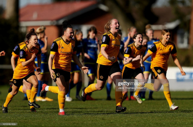 Wolves Women knocked out Nottingham Forest last weekend on penalties. . (Photo by Jack Thomas - WWFC/Wolves via Getty Images)