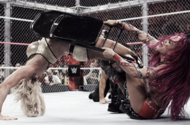 The Women's Hell in a Cell match was supposed to have more spots says Ric Flair (image: thecomback.com)