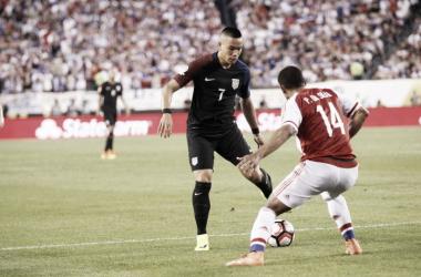 Wood und die Amerikaner stehen im Viertelfinale. | Quelle: Copa América
