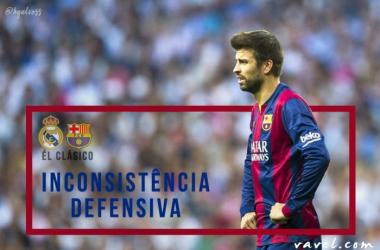 Inconsistência defensiva do Barcelona pode ser prejudicial para El Clásico