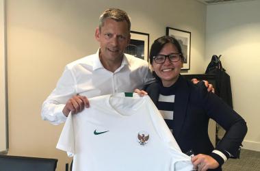 PSSI Berkolaborasi dengan FA Inggris