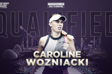 Caroline Wozniacki qualifies for WTA Finals