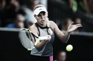 Wozniacki sigue dándole continuidad al gran final de año en 2017