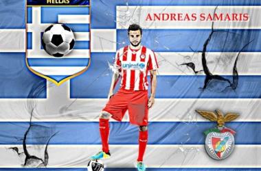Benfica: Samaris poderá ser o substituto de Enzo Pérez