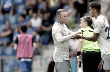 Calvert-Lewin elogia el impacto de Rooney en el Everton