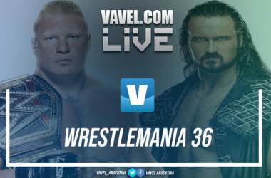 WWE Wrestlemania 36 EN VIVO, minuto a minuto