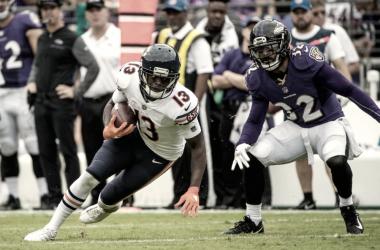 El último partido de Wright con los Bears fue contra su nuevo equipo, los Vikings. | Foto: Minnesota Vikings