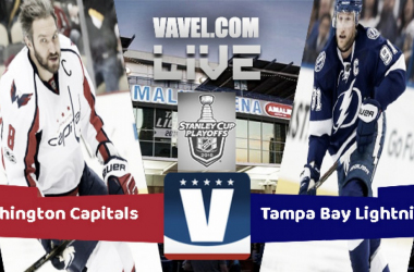 The Tampa Bay Lightning host the Washington Capitals in Game 5 of the 2018 Stanley Cup Playoffs Eastern Conference Final. | PHOTO: VAVEL USA