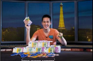 En la imagen, Adrián Mateos. (Fuente foto: WSOP).