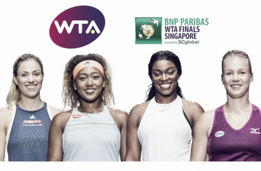 The Red Group of the 2018 WTA Finals — Kerber, Osaka, Stephens, Bertens