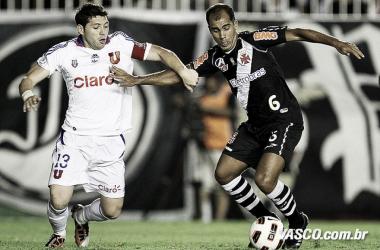 Recordar é viver: La U para trem-bala vascaíno na Copa Sulamericana
