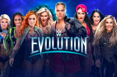 Evolution  photo credit: wwe.com