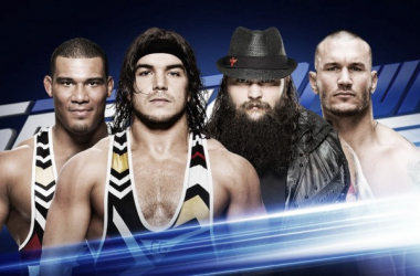 Wyatt Family and American Alpha will clash next week. Photo- WWE.com