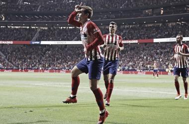 Griezmann está contento en el Atlético de Madrid